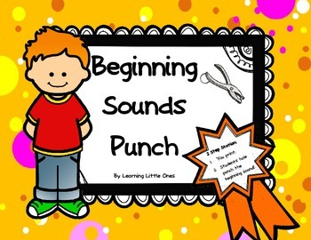 Beginning Sounds Punch in English