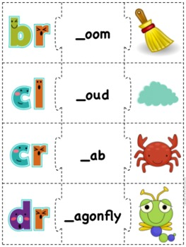 Beginning Sounds Puzzle