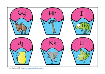 Beginning Sounds Puzzles