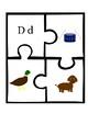Beginning Sounds Puzzles A-E