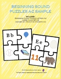 Beginning Sounds Puzzles A-E