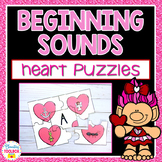 Beginning Sounds Puzzles (Hearts)