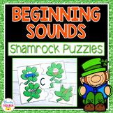 Beginning Sounds Puzzles (Shamrocks)