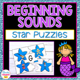 Beginning Sounds Puzzles (Stars)