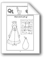 Beginning Sounds: Q, W, Y, C