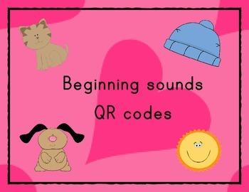 Beginning Sounds QR codes