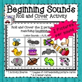 Beginning Sounds (Roll and Cover 2)