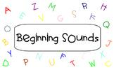 Beginning Sounds SMART Notebook Activity