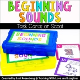 Beginning Sounds Scoot or Task Cards