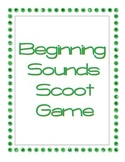 Beginning Sounds Scoot Game