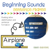 Beginning Sounds Sentence Strips