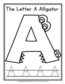 Alphabet Characters Beginning Sound Phonics Worksheets