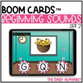 Beginning Sounds Set 2 BOOM CARDS