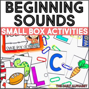 Beginning Sounds: Small Box Activities
