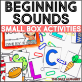 Beginning Sounds: Small Box Activities