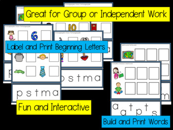 Beginning Sounds SmartBoard Phonics - Set 1 - STMPA