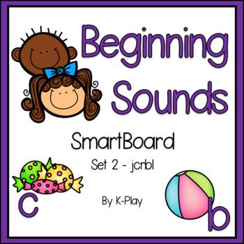 Beginning Sounds SmartBoard Phonics - Set 2 - JCRBL