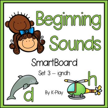 Beginning Sounds SmartBoard Phonics - Set 3 - IGNDH