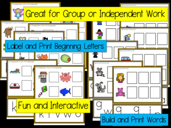 Beginning Sounds SmartBoard Phonics - Set 4 - FKWOV