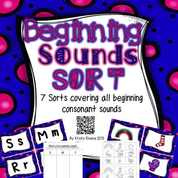 Beginning Sounds Sort
