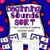 Beginning Sounds Sort