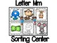 Beginning Sounds Sorting Centers (w/ formative assessments