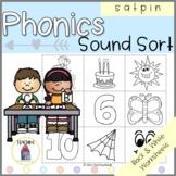 Phonics Beginning Sounds Sort Worksheets SATPIN