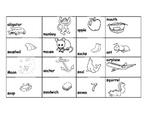 Beginning Sounds Sort for Kindergarten Treasures Unit 2 Week 1