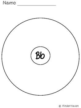 Beginning Sounds Sorting Circles: Interactive Notebook