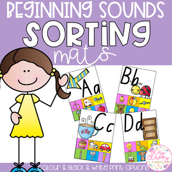 Beginning Sounds Sorting Mats