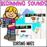 Beginning Sounds Sorting Mats