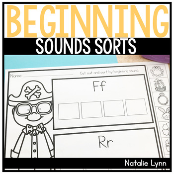 Beginning Sounds Sorts
