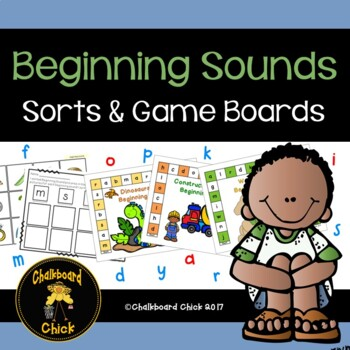 Beginning Sounds, Sorts, and Game Boards