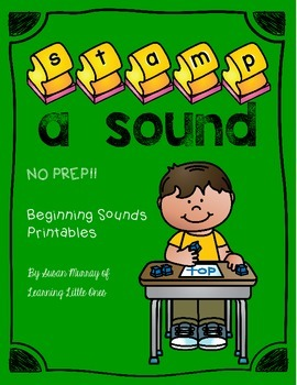Beginning Sounds Stamping *No Prep!* Printables