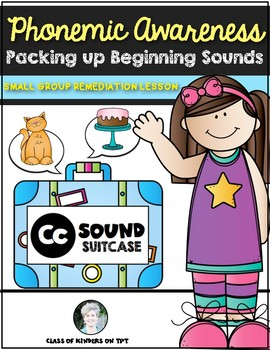 Phonemic Awareness {Beginning Sounds} for Kindergarten & First Remediation