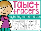 Beginning Sounds Tablets {2 versions}