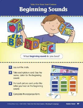 Beginning Sounds (Take It to Your Seat Centers)