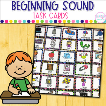 Beginning Sound Task Cards