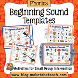 Beginning Sounds Templates