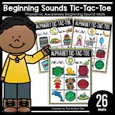 Beginning Sounds Tic-Tac-Toe: Phonemic Awareness