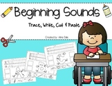 Beginning Sounds (Cut and Paste Worksheets)