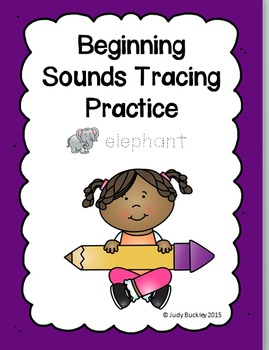 Beginning Sounds Tracing Practice