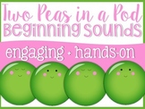 Beginning Sounds Two Peas in a Pod