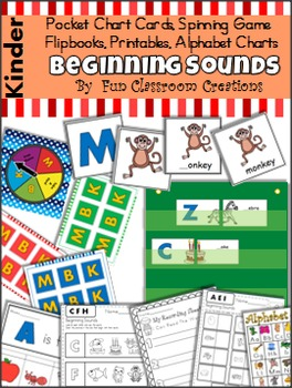 Beginning Sounds Unit - Huge Bundle