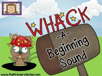 Beginning Sounds Whack-A-Mole