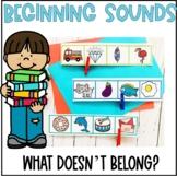 Beginning Sounds- What Doesn't Belong?