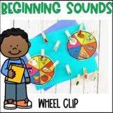 Beginning Sounds Wheel Clip