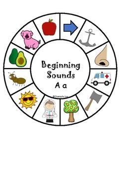 Beginning Sounds- Wheels