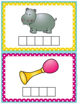 Beginning Sounds Word Building Pack {Consonants & Short Vowels}