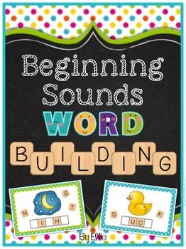 Beginning Sounds Word Building Pack {Consonants & Short Vowels}